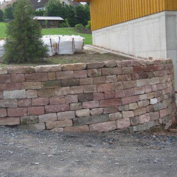 Neugestaltung Außenanlagen Lautertal