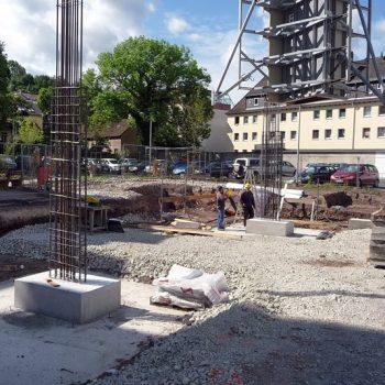 Neubau Esco Park Coburg