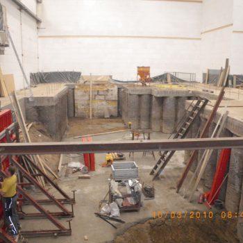 Einbau Maschinenfundament Berlin