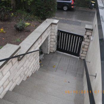 Neugestaltung Treppenaufgang Coburg