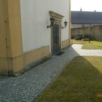 Sanierung Grundmauern Kirche Witzmannsberg