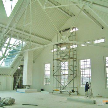 Umbau Fabrikgebäude zu Galerie und Penthauswohnung